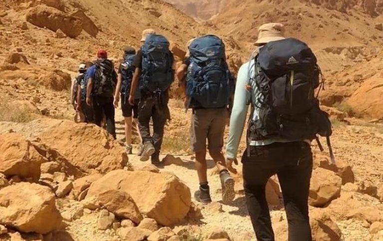 תמונה לרקע של מסע טיפולי במדבר